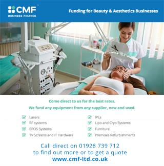 CMF Finance for Beauty and Aesthetics Businesses