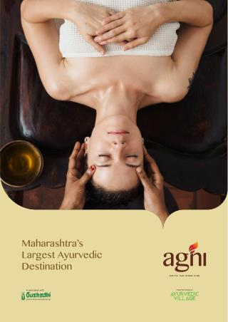 Ayurvedic herbal treatment and kerala therapy massage in india
