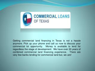 Small balance commercial mortgages