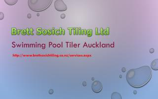 Swimming Pool Tiler Auckland