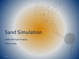 Sand Simulation