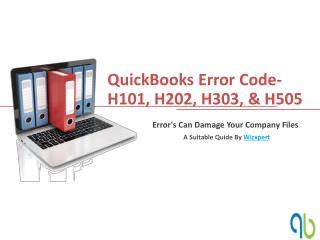 QuickBooks Error Code-H101, H202, H303, & H505