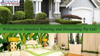 Attentive Painting & Decorating Pty Ltd
