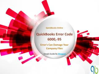 QuickBooks Error Code 6000,-95