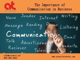 Arrowtel - Communication in VOIP Business