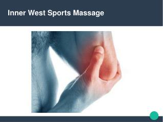 Get the best Sports Massage in Marrickville!
