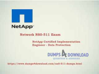 NS0-511 Network Real Exam Questions | 100% Free PDF Files
