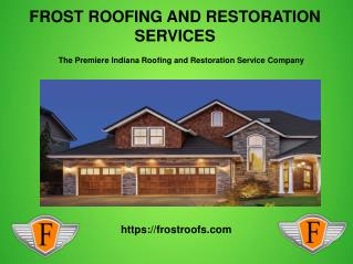 Diiferent Roofing Options  in Nashville, Indiana