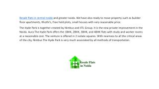Resale Flats in Central Noida