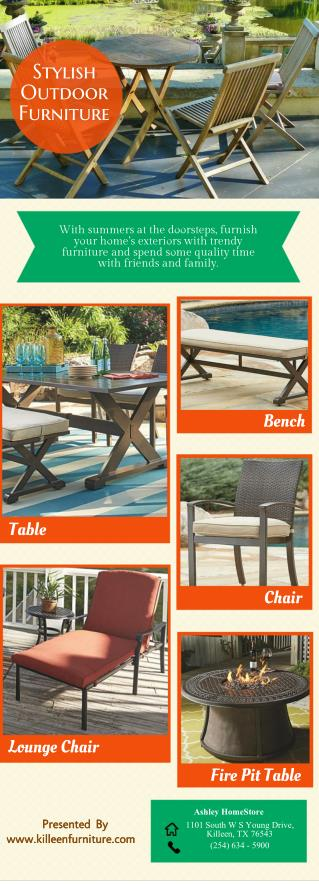 Stylish Outdoor Furniture