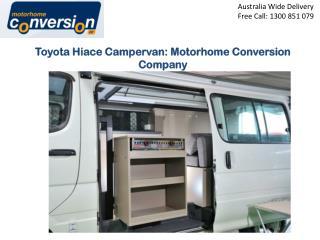 Toyota Hiace Campervan: Motorhome Conversion Company