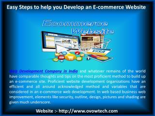 Website development company Chandigarh - Ovowtech
