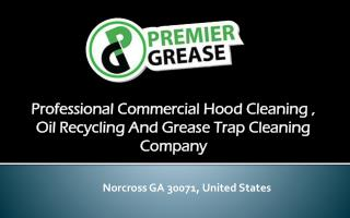 Get oil recycling services from Premier Grease