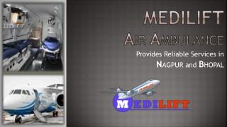Get Medilift Air Ambulance Service in Nagpur – Fastest Air Medical Transport