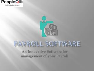 Payroll Software: An Innovative Software for management of your Payroll