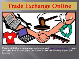 Trade Items Online | Trade Exchange Online | OneStopSwaps
