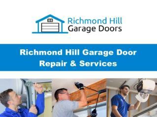 Richmond Hill Garage Door Repair & Service