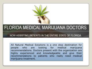 Florida Medical Marijuana Dispensaries