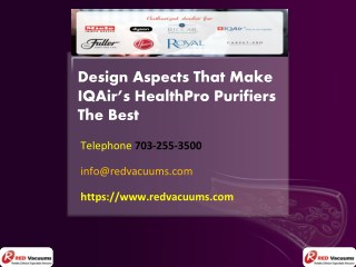 Design Aspects That Make IQAir's HealthPro Purifiers The Best