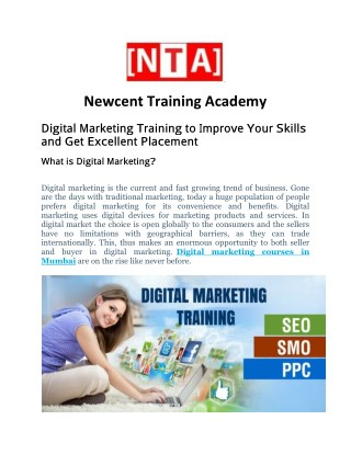 Digital Marketing Course & Training In Mumbai-India | Newcent