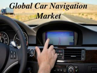 Global Car Navigation Market