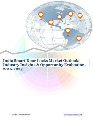 India Smart Door Locks market