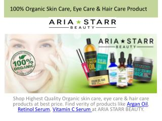 Introducing Aria Starr Natural Beauty Products