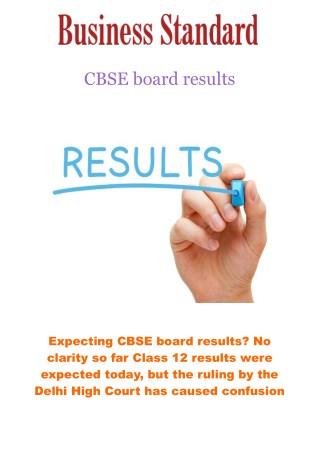 CBSE board results