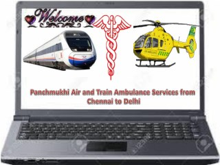 Full Accomplished Bed- Side to Bed Service by Panchmukhi Air Ambulance Services from Chennai to Mumbai