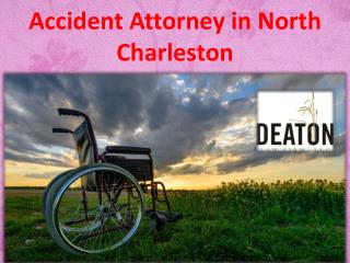 Accident Attorney in North Charleston
