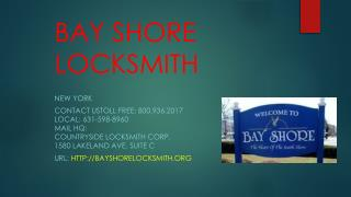 Bay Shore, New York Locksmith