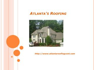 Atlanta roofing