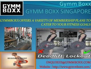 Gymm Boxx-Certified Gym Trainer
