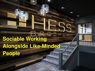 HESSbk: Sociable Working Alongside Like-Minded People