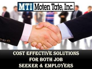 Cost Effective Solutions For Both Job Seekers & Employers