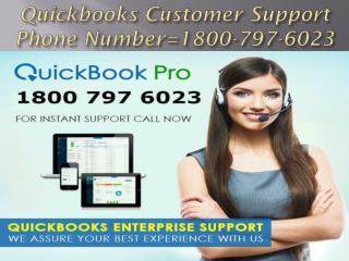 QUICKBOOKS 1800 797 6023 Quickbooks Tech Support Phone Number usa