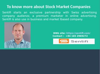 About to Stock Market Companies