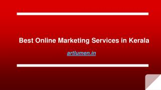 Online Marketing Services in Kochi | Digital Marketing Company