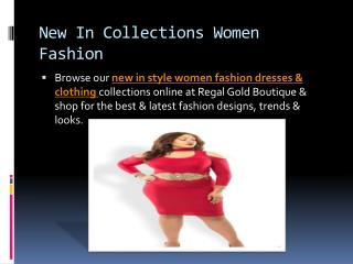 New In Collections Women Fashion Dresses