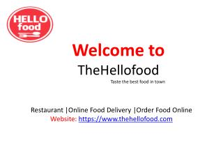 HelloFood Online Food Order Lunch in Madhapur Hyderabad Thehellofood