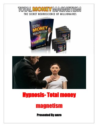 Hypnosis Total money magnetism