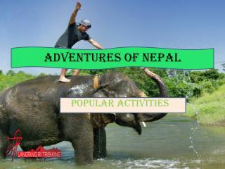Adventures of nepal