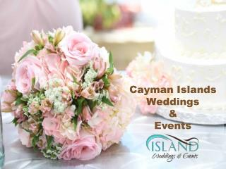 Plan your cruise ship wedding in the Cayman Islands