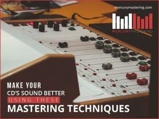 Professional Audio Mastering Techniques