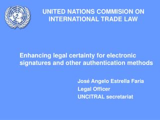 UNITED NATIONS COMMISION ON INTERNATIONAL TRADE LAW