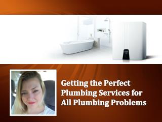 Getting the Perfect Plumbing Services for All Plumbing Problems