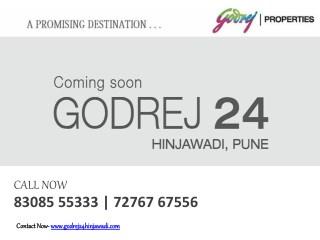 Godrej 24 Hinjawadi -3 bhk Luxury flat In Hinjewadi