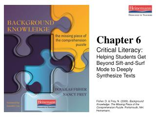 Chapter 6 Critical Literacy: Helping Students Get Beyond Sift-and-Surf Mode to Deeply Synthesize Texts