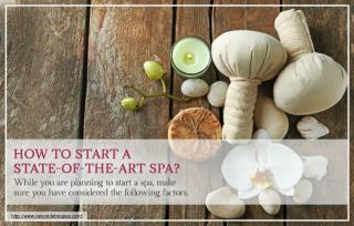 Things to keep in mind while opening a new spa